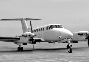 king-air-bw